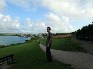 View from Padstow War Memorial