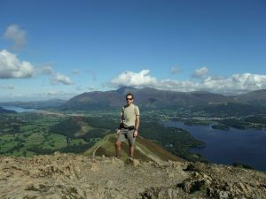 Tim atop Catbells