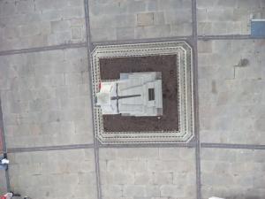 War memorial from above