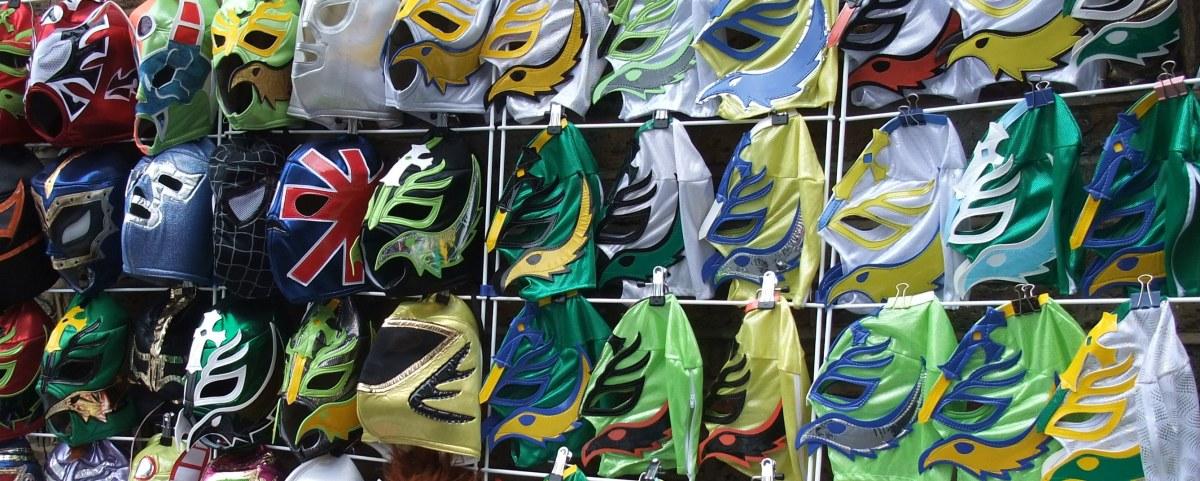 Wrestling mask stall
