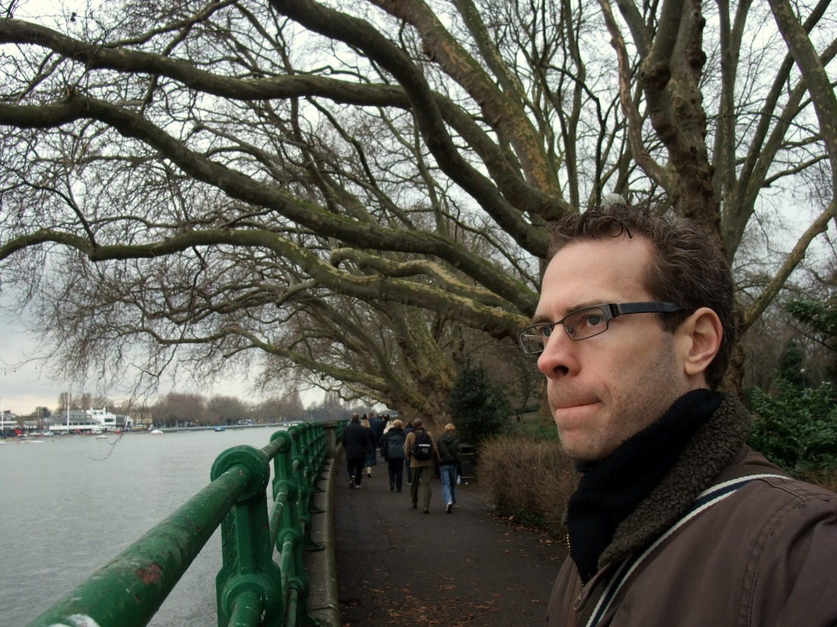 Tim on Thames