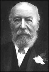 George Cadbury - hirsute philanthropist & Curley Wurley inventor
