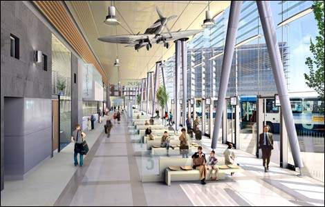 New Derby air terminal. I mean bus station.
