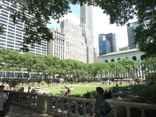 Lovely Bryant Park
