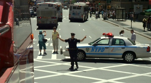 Bomb scare keeps the NYPD busy