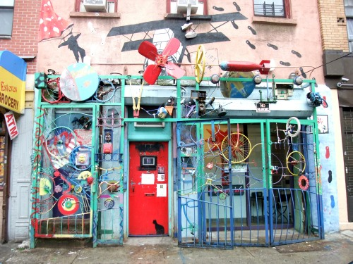 East Village shop front