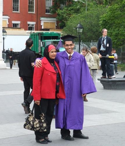 Graduate graduating