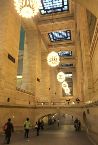 Grand Central chandeliers