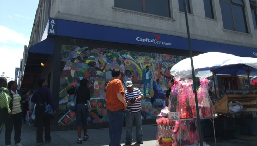 Harlem street corner