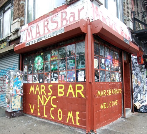 This, surprisingly, is a functioning bar