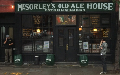 The infamous McSorleys Ale House