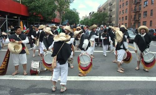 Paraders prepare