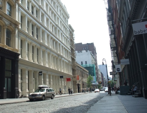 Soho Street - before it got busy
