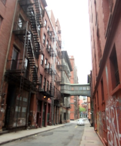 Typical Tribeca street
