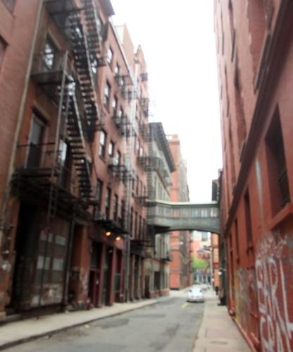 Typical Tribeca street