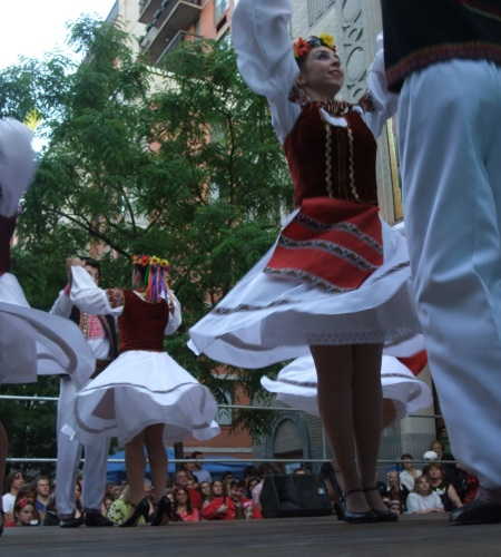 Ukraine folk dancing