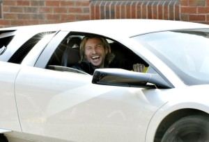 Derby's Robbie Savage - he's eveywhere you look. Including here.