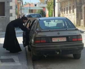 Kerb crawling monk
