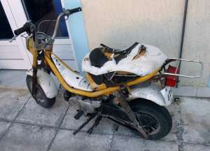Once a moped