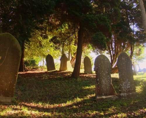 Bonsall churchyard