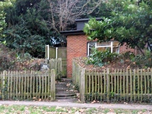 Hampstead Heath gents WC