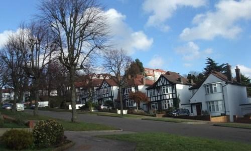 Leafy suburbs