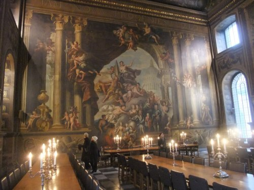 Top Table at the Painted Hall