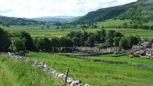 View back to Kettlewell