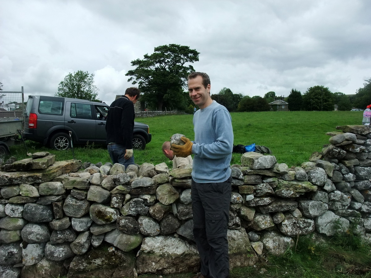 I'm holding a walling stone. Obviously.