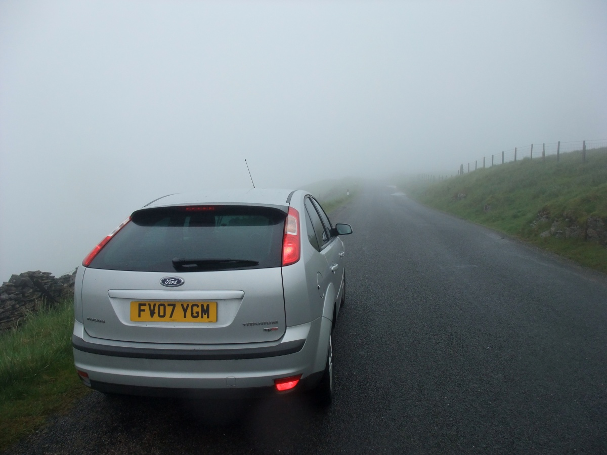 Low visibility in Wensleydale
