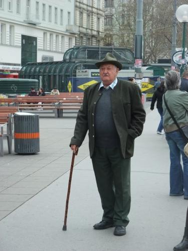 A man around town