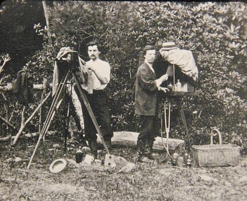 Paparazzi stalking Queen Victoria circa 1870