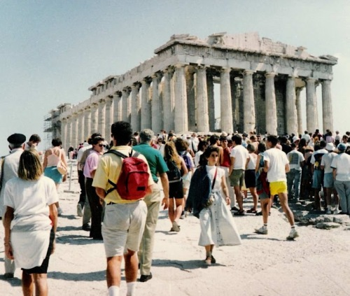Athens 1990 - Now you need instagram to get this faded effect