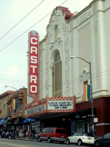 The famous Castro Theatre