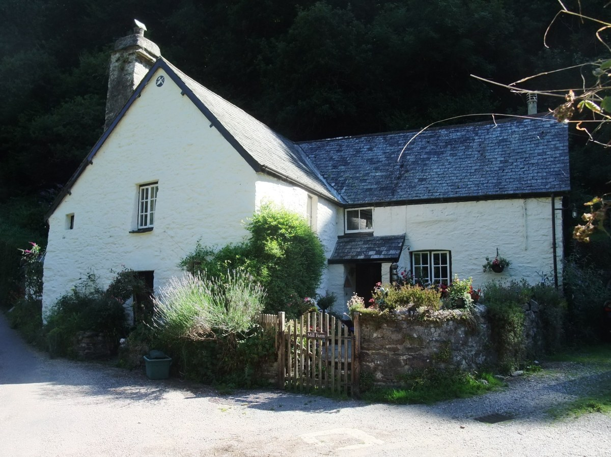 Cottage near Heddon Mill