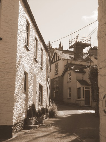 Parracombe - still in sepia even today
