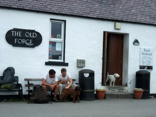 The Old Forge - remotest pub in the UK