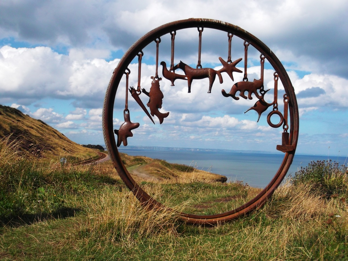Olympic funded art on the coastal trail