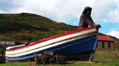 Old boat at Skinningrove