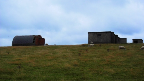 Former radar station near Ravenscar