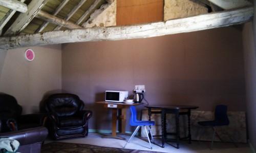 My barn living room