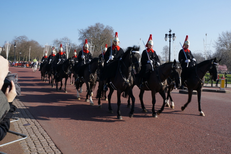 Horse Guards – distant cousins of the Riders Of Rohan