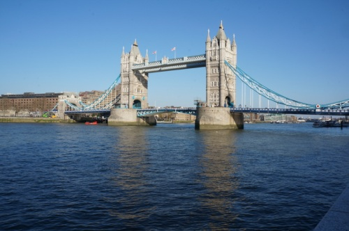 Tower Bridge always looks great
