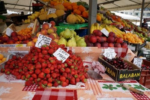Early season strawberries