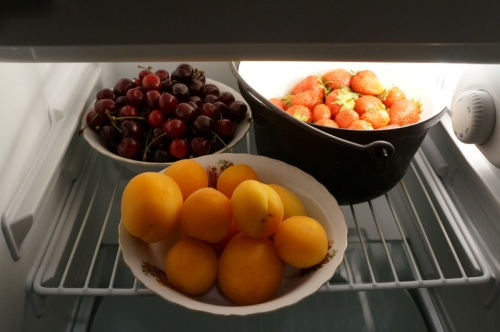 Fridge fresh fruit