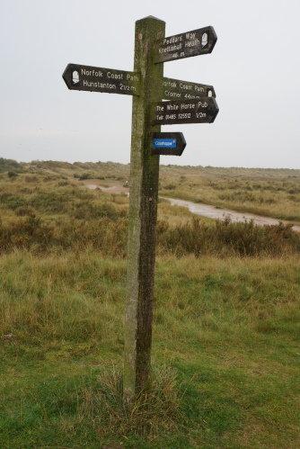 Cromer - 4 days walk or 45 minutes by car