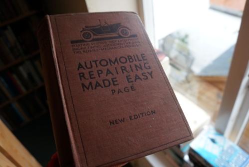 Car maintenance 1915 style