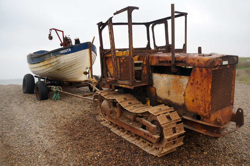 A ghost ship needs a ghost tractor