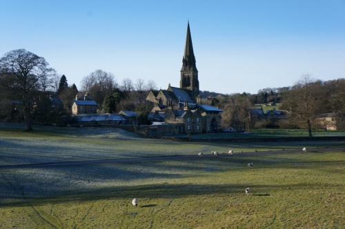 Edensor - out of sight