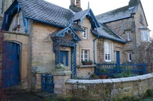 An Edensor cottage